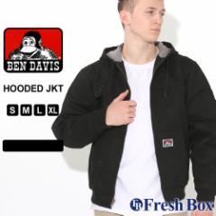 ベンデイビス ジャケット フード付き ジップアップ フリースライナー メンズ 大きいサイズ 344 USAモデル ブランド BEN DAVIS アウター