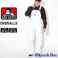ベンデイビス オーバーオール ツイル ボタンフライ メンズ 大きいサイズ 382 USAモデル ブランド BEN DAVIS 作業着 作業服 ワークウェア