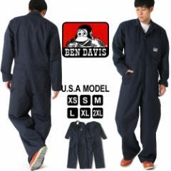 ベンデイビス つなぎ 長袖 メンズ 大きいサイズ USAモデル ブランド BEN DAVIS アメカジ 作業着 作業服 おしゃれ