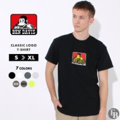 ベンデイビス Tシャツ 半袖 メンズ 大きいサイズ USAモデル ブランド BEN DAVIS 半袖Tシャツ ロゴT アメカジ ビッグシルエット 春新作