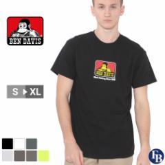 ベンデイビス Tシャツ 半袖 メンズ 大きいサイズ USAモデル ブランド BEN DAVIS 半袖Tシャツ ロゴT アメカジ ビッグシルエット 夏新作