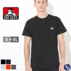 ベンデイビス Tシャツ 半袖 ポケット メンズ 大きいサイズ USAモデル ブランド BEN DAVIS 半袖Tシャツ ポケT アメカジ ビッグシルエット
