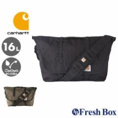 Carhartt カーハート メッセンジャーバッグ 大容量 ショルダーバッグ メンズ 斜めがけ 大きめ 撥水加工 [carhartt-525200] (USAモデル)