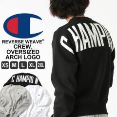 チャンピオン トレーナー 厚手 メンズ レディース バックプリント 大きいサイズ USAモデル リバースウィーブ ブランド スウェット ロゴ