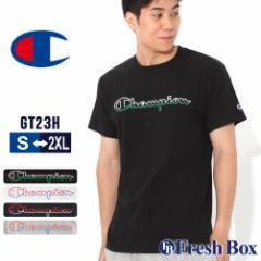 チャンピオン Tシャツ 半袖 クルーネック メンズ 大きいサイズ GT23H Y08126 USAモデル ブランド Champion 半袖Tシャツ アメカジ 冬新作