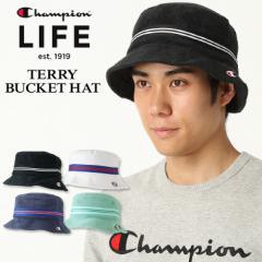 チャンピオン ライフ バケットハット メンズ レディース 帽子 USAモデル パイル地 ブランド ロゴ アメカジ Champion