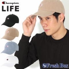 Champion チャンピオン キャップ メンズ アメカジ ブランド ローキャップ 帽子 [Champion Life US企画] (champion-h78458) 冬新作