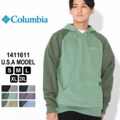 Columbia コロンビア パーカー プルオーバー ラグランスリーブ 1411611 ブランド フリースフーディー 防寒 [夏新作]