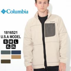 コロンビア ジャケット フリース フルジップ 1816521 ブランド Columbia シェルパフリース 防寒 [秋新作] あったか_b
