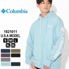 Columbia コロンビア パーカー プルオーバー スリーブグラフィック 1821011 ブランド スウェット 防寒 [秋新作] あったか_b