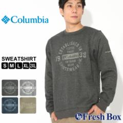 Columbia コロンビア トレーナー メンズ ブランド 裏起毛 スウェット 大きいサイズ [Hart Mountain Graphic Sweatshirt] (USAモデル) 春