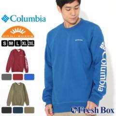 Columbia コロンビア トレーナー メンズ ブランド 裏起毛 スウェット 大きいサイズ UPF50 UVカット 紫外線防止 [Mens Columbia Logo Fle