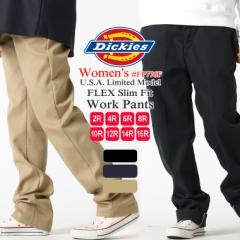 [レディース] ディッキーズ フレックス ワークパンツ スリムフィット ストレッチ 大きいサイズ FP776F USAモデル|ブランド Dickies Wome