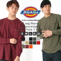 ディッキーズ Dickies ディッキーズ ロンT メンズ 長袖tシャツ 大きいサイズ メンズ [Dickies ディッキーズ アメカジ ロンt メンズ 無地