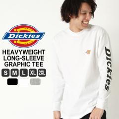ディッキーズ Tシャツ 長袖 メンズ|大きいサイズ USAモデル Dickies|ロンT 長袖Tシャツ ロゴT