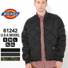 ディッキーズ ジャケット キルティング 61242 メンズ 大きいサイズ USAモデル Dickies 秋新作 あったか_b