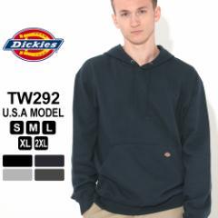 ディッキーズ パーカー プルオーバー 無地 TW292 メンズ 裏起毛 大きいサイズ USAモデル Dickies 冬新作 あったか_b