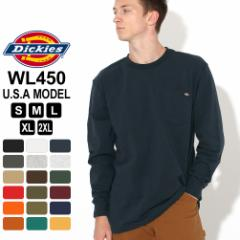秋新作 ディッキーズ Tシャツ 長袖 WL450 メンズ|大きいサイズ USAモデル Dickies