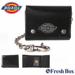 Dickies ディッキーズ 財布 メンズ 三つ折り ブランド カジュアル 本革 コンパクト チェーン付き [dickies-31di1117] (USAモデル)