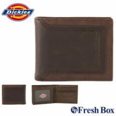 Dickies ディッキーズ 財布 メンズ 二つ折り ブランド カジュアル 本革 [dickies-31di130018] (USAモデル)