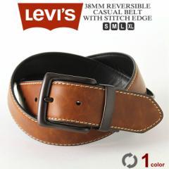 リーバイス Levis Levis リーバイス ベルト メンズ 本革 カジュアル 大きいサイズ メンズ ベルト リバーシブル ベルト 38mm (USAモデル)