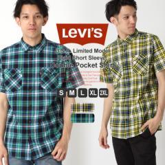リーバイス シャツ 半袖 メンズ チェック 大きいサイズ USAモデル ブランド Levis 半袖シャツ アメカジ カジュアル