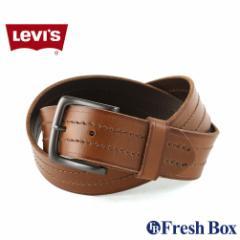 Levis リーバイス ベルト メンズ 本革 ブランド カジュアル 大きいサイズ 130cm 110cm [levis-11lv120081] (USAモデル)