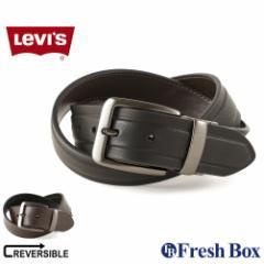Levis リーバイス ベルト メンズ 本革 ブランド カジュアル リバーシブル 大きいサイズ [levis-11lv120z01] (USAモデル)