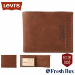 Levis リーバイス 財布 メンズ 二つ折り ブランド カジュアル 本革 [levis-31lv240013] (USAモデル)