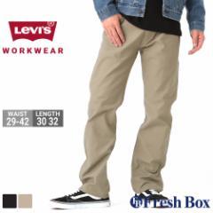levis リーバイス ジーンズ メンズ ストレート ワークパンツ 黒 ブラック 大きいサイズ WORKWEAR FIT [levis-87442] (USAモデル)