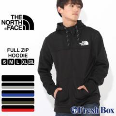 ノースフェイス パーカー TNF ロゴ ジップアップ 裏起毛 メンズ NF0A34YV USAモデル|ブランド THE NORTH FACE|フード ジャージ スウェ