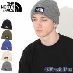 秋新作 ノースフェイス ニット帽 TNF スクエア ロゴ メンズ レディース NF0A3FJX USAモデル|ブランド THE NORTH FACE|帽子 ビーニー ニ