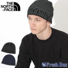 秋新作 ノースフェイス ニット帽 TNF ロゴ メンズ レディース NF0A3FNB USAモデル|ブランド THE NORTH FACE|帽子 ビーニー ニットキャ
