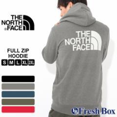 【秋新作】 THE NORTH FACE ノースフェイス パーカー メンズ ジップ 大きいサイズ メンズ パーカー ブランド ジップアップパーカー 裏起