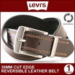 リーバイス Levis Levis ベルト メンズ 本革 大きい レザーベルト 大きいサイズ リバーシブル ベルト 回転式バックル