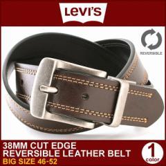 Levis Levis ベルト リーバイス リバーシブル ベルト レザー 本革 ベルト 大きいサイズ カジュアルベルト メンズ 回転式バックル