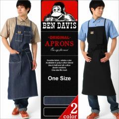 ベンデイビス エプロン デニム メンズ 大きいサイズ USAモデル ブランド BEN DAVIS アメカジ 作業着 作業服 男性用 おしゃれ