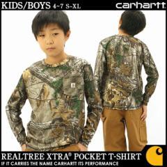 【BOYS/KIDS】 Carhartt カーハート Tシャツ キッズ 子供服 ロンt 長袖tシャツ 長袖 アメカジ ボーイズ キッズ 男の子 女の子