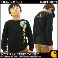 [キッズ] カーハート Tシャツ 長袖 USAモデル ボーイズ│ブランド Carhartt|長袖Tシャツ ロンT|子供 子供服 男の子 女の子 アメカジ お