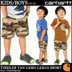 [キッズ] カーハート ハーフパンツ USAモデル ボーイズ│ブランド Carhartt ショートパンツ 半ズボン ロゴ 子供 子供服 男の子 女の子 ア