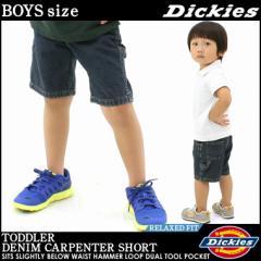 【BOYS/KIDS】 Dickies ディッキーズ 子供服 ハーフパンツ 男の子 女の子 ずぼん アメカジ ヒップホップ ボーイズ キッズ (kr211)