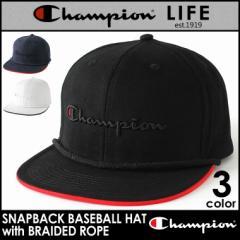 Champion チャンピオン キャップ 帽子 メンズ スナップバックキャップ アメカジ キャップ Champion Life 父の日 ギフト ファッション