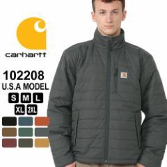 カーハート ジャケット 中綿 メンズ ギリアムジャケット 大きいサイズ 102208 USAモデル ブランド Carhartt 春新作