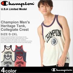チャンピオン タンクトップ メンズ 大きいサイズ USAモデル|ブランド ノースリーブ ロゴ アメカジ おしゃれ スポーツ|Champion