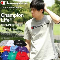 チャンピオン Tシャツ 半袖 レディース メンズ 大きいサイズ USAモデル ブランド 半袖Tシャツ ロゴ アメカジ ストリート Champion