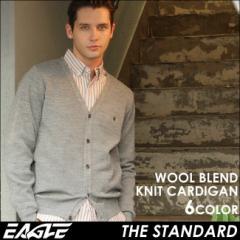 【送料無料】 EAGLE THE STANDARD イーグル カーディガン メンズ ニット 無地 日本製 [日本規格] (eagle-30003) ニット セーター メンズ