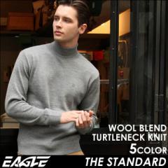 EAGLE THE STANDARD イーグル セーター メンズ タートルネック ニット ウール セーター 日本製 [日本規格]
