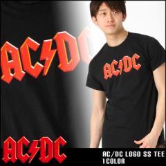 AC DC ロックTシャツ 半袖 メンズ プリント 大きいサイズ USAモデル 半袖Tシャツ バンドT ロゴT ミュージック
