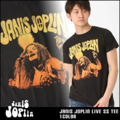 ジャニス・ジョプリン Tシャツ 半袖 メンズ プリント 大きいサイズ USAモデル Janis Joplin 半袖Tシャツ バンドT ロゴT ミュージック