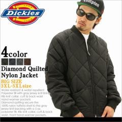 [ビッグサイズ] ディッキーズ キルティングジャケット 61242 メンズ ナイロンジャケット|大きいサイズ USAモデル Dickies|ワークジャケ